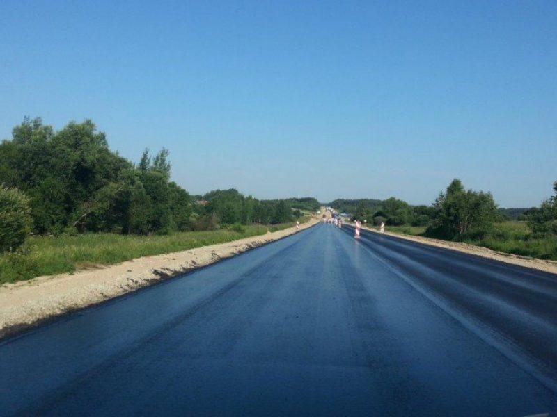 Pasienio vietovių keliams taisyti ir rekonstruoti – beveik 5 mln. eurų