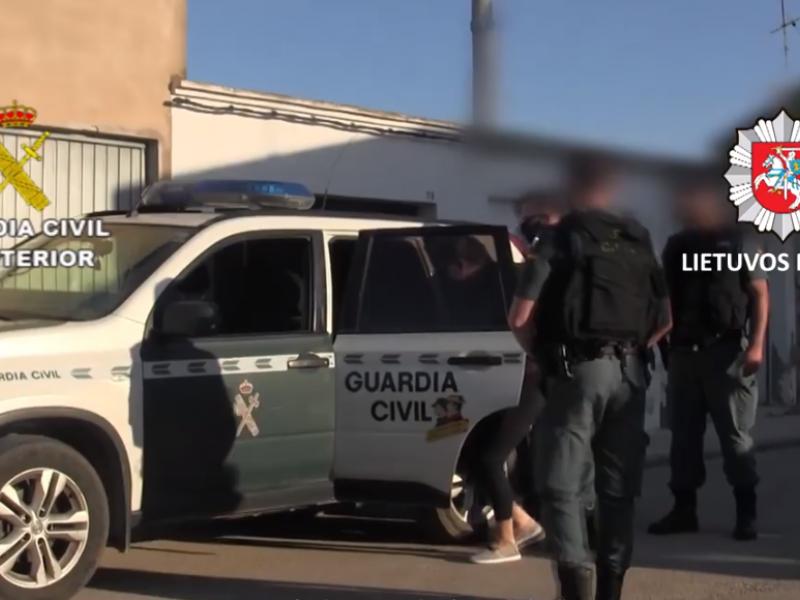 Iš vergijos Ispanijoje išlaisvinti lietuviai, suimti juos išnaudoję tautiečiai