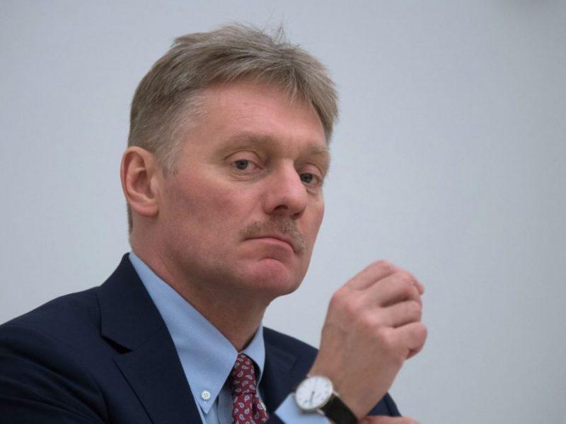 Kremlius atmeta užsienio lyderių nerimą dėl A. Navalno sveikatos