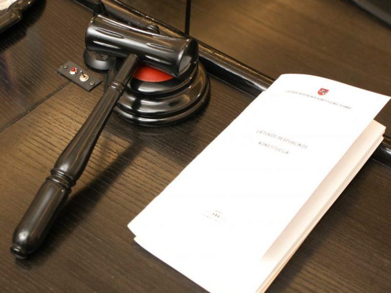 Atmestas buvusio Aplinkos apsaugos departamento pareigūno skundas dėl nuobaudos