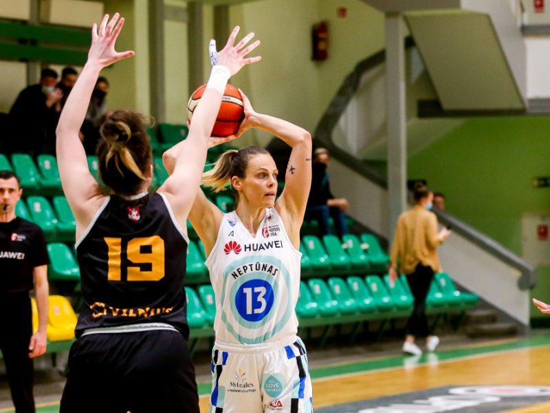 Lietuvos moterų krepšinio lygos A divizione – klaipėdietės vėl tarp medalininkių