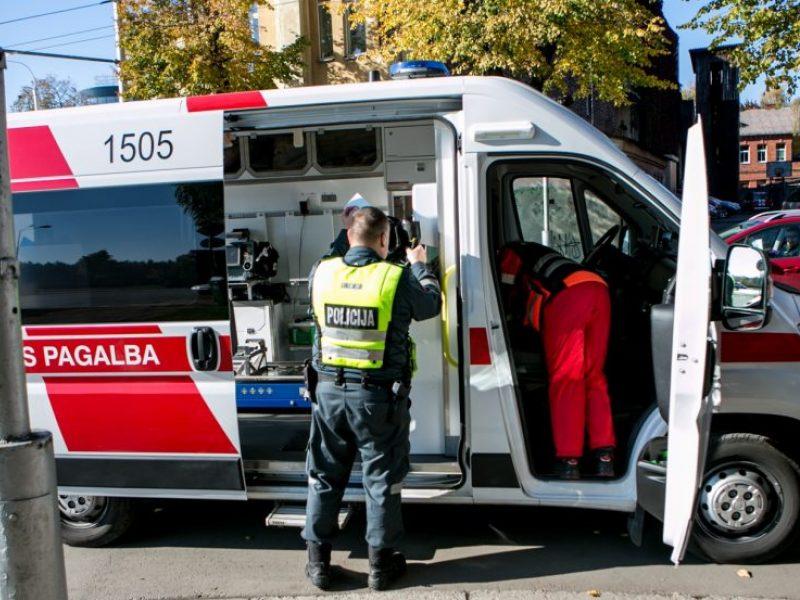 Ligoninėje atsidūrė sostinėje automobilio partrenkta pėsčioji