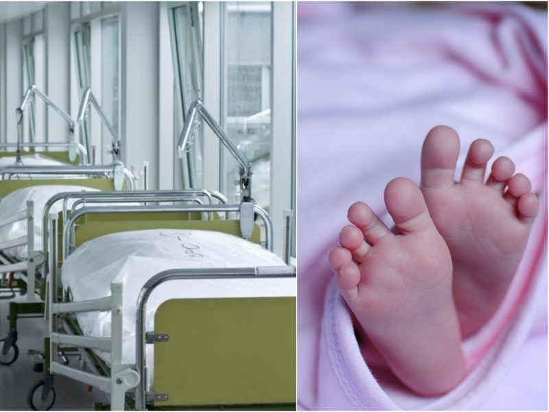 Ligoninėje atsidūrė Radviliškyje iš balkono iškritusi mergaitė