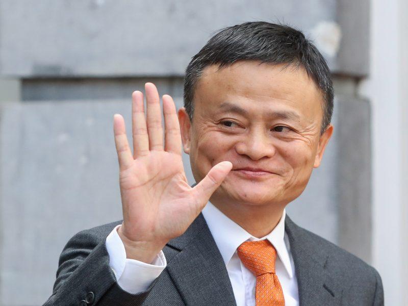 """""""Alibaba"""" įkūrėjas J. Ma: 12 valandų darbo savaitė gali tapti norma"""