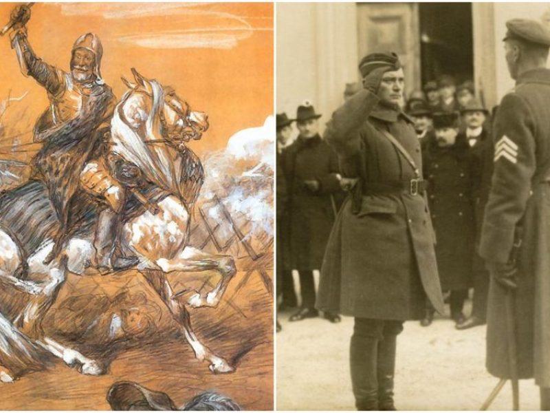 Vilniuje atidengiamas paminklas didžiajam etmonui J. K. Chodkevičiui