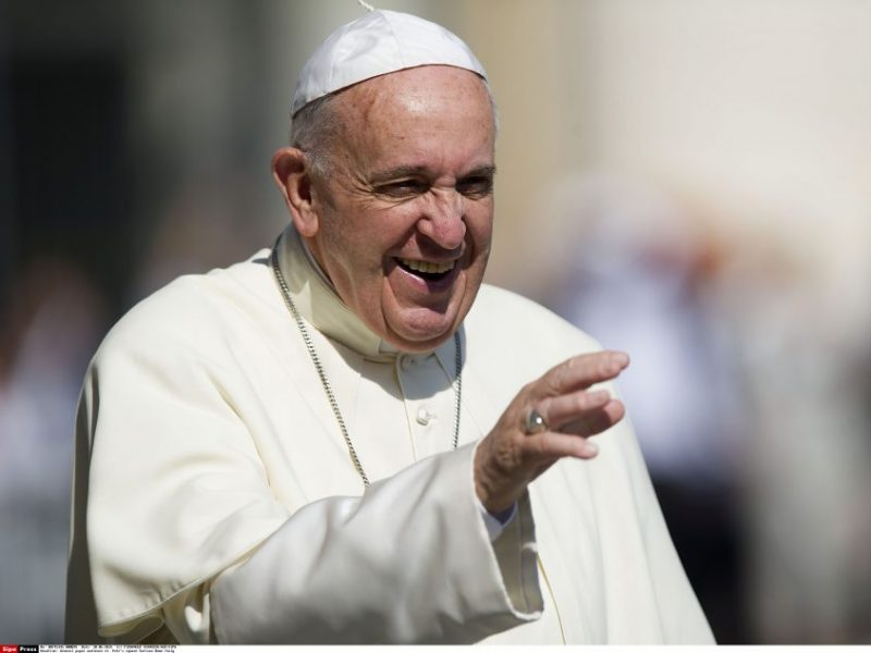 Irake viešintis popiežius Pranciškus susitiko su įtakingu šiitų dvasininku