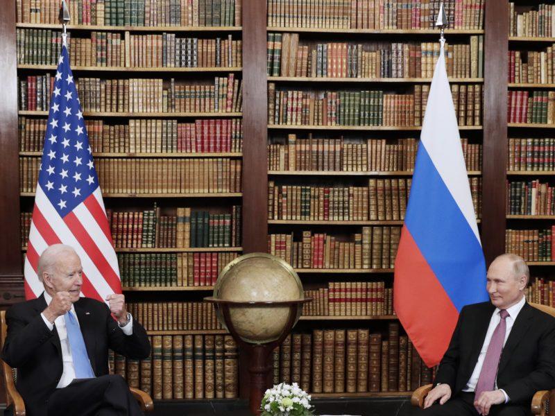 Rusijos prezidentas: per susitikimą su J. Bidenu nebuvo jokio priešiškumo