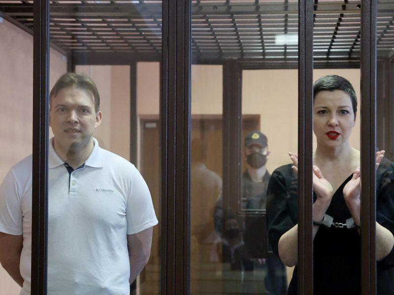 Advokatai apskundė M. Znakui ir M. Kalesnikavai teismo skirtą nuosprendį