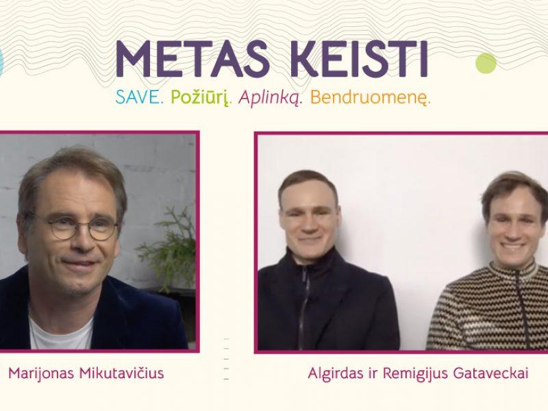 """Menininkai Algirdas ir Remigijus Gataveckai: """"Jei sugebėjome mes, sugebėsite ir jūs"""""""