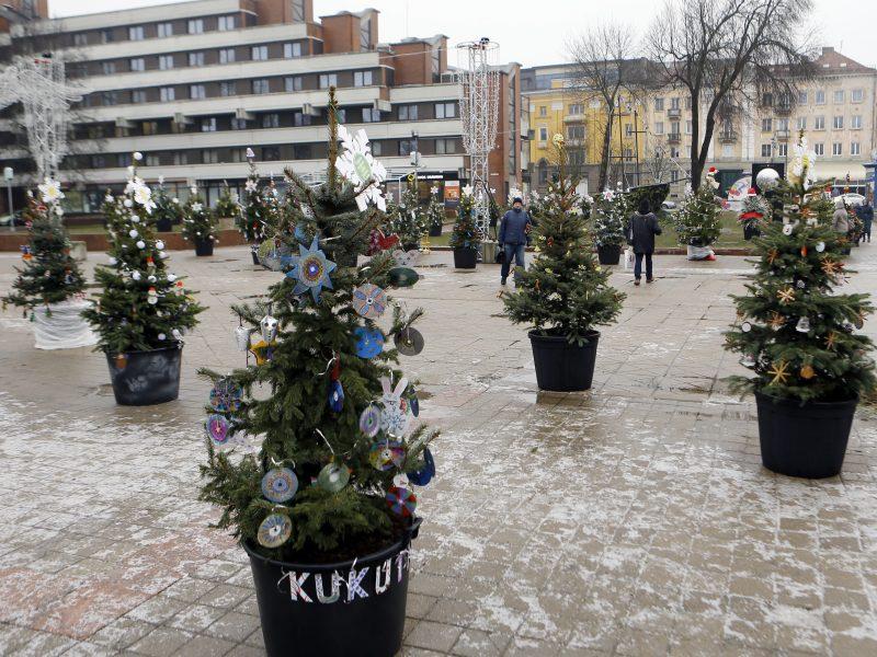 Kalėdos neaplenks ir Atgimimo aikštės