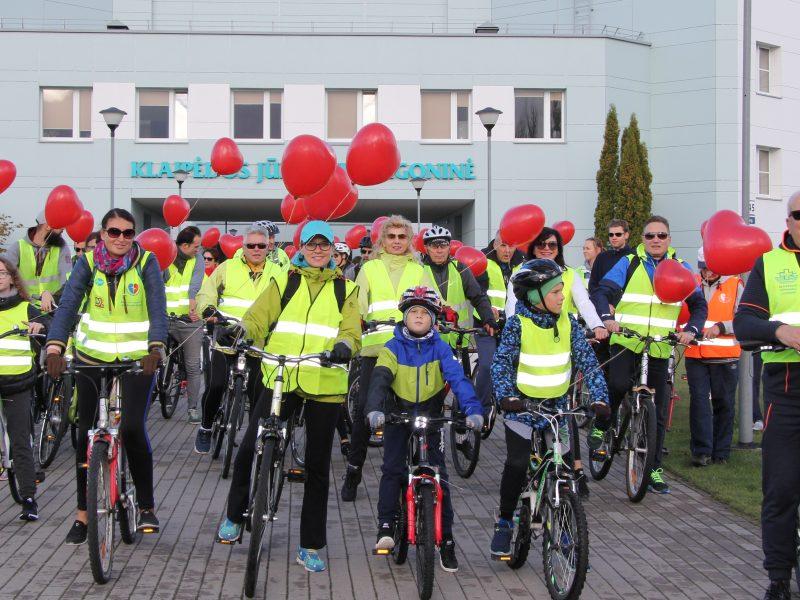 Širdies dieną – dviračių žygis ir konsultacijos