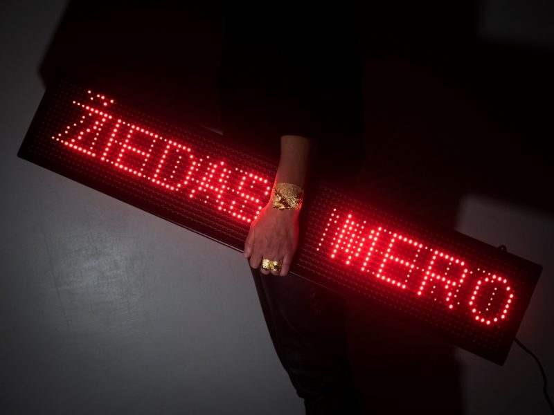"""In Gold We Trust"": N. Poškutės-Jukumienės juvelyrikos instaliacija"
