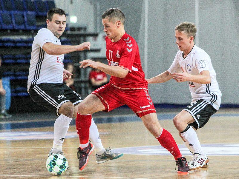 """Baltijos futsalo lyga: """"Vytis"""" – """"Rezekne"""" 5:1"""