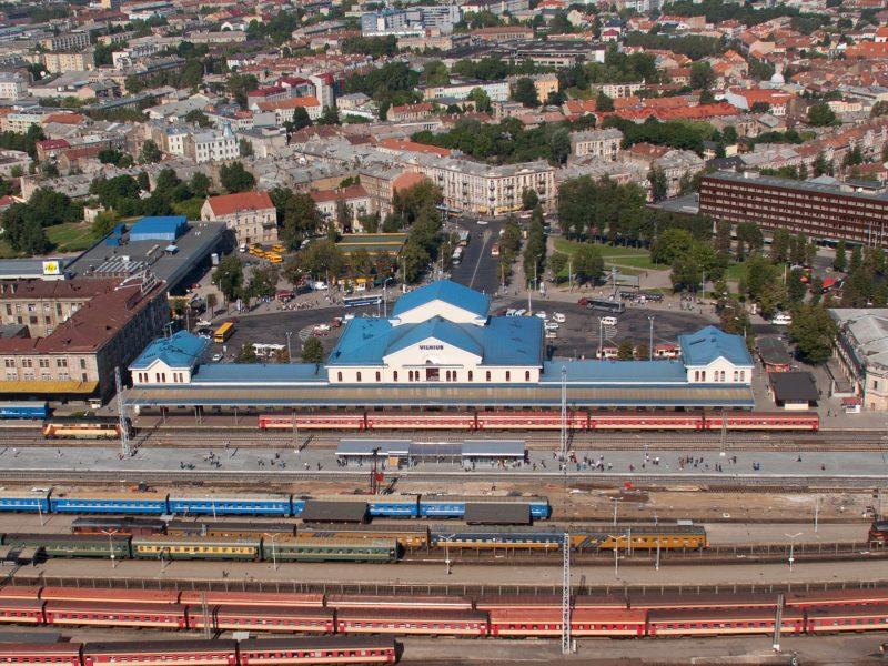 Vilniaus stoties rajoną tikimasi pertvarkyti iki 2030-ųjų