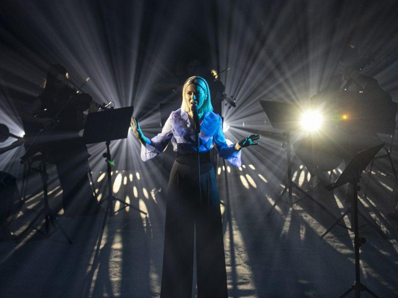 M. Linkytės koncertas Vilniuje