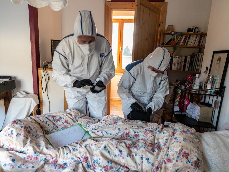 Patvirtinta ketvirtoji mirtis nuo koronaviruso: mirė panevėžietis, grįžęs iš PAR