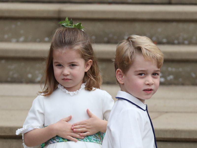 Britų princesė Charlotte mokykloje turės užtarėją – savo vyresnįjį brolį