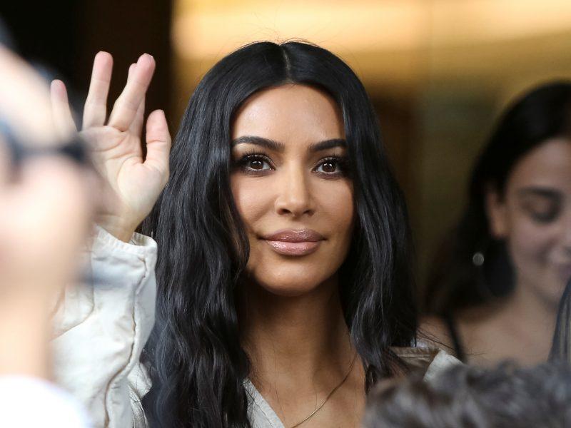 K. Kardashian vaikus pakrikštijo savo protėvių tėvynėje