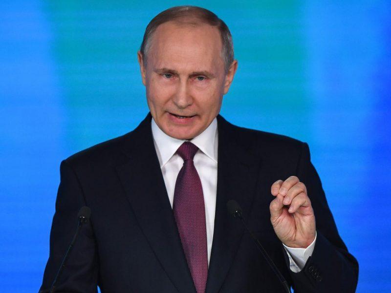 V. Putinas pirmą kartą pakomentavo incidentą prie Severodvinsko