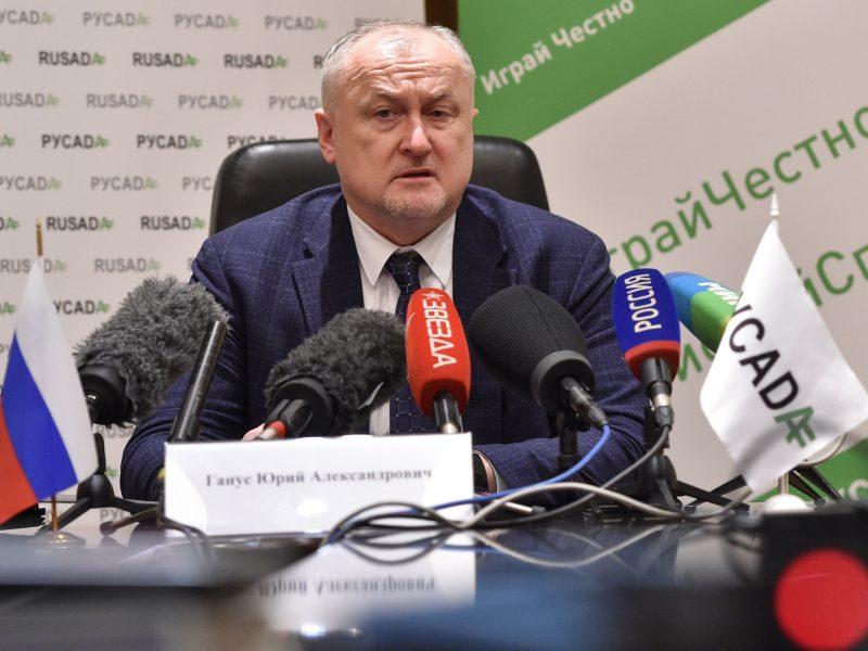 Rusijos antidopingo agentūros vadovas užsipuolė savo šalies atletikos federaciją