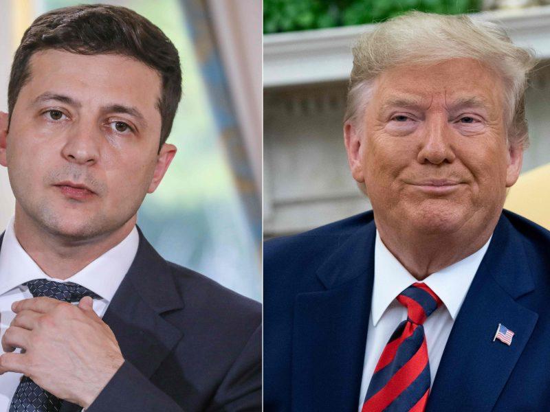 "V. Zelenskis: Ukraina ""pavargusi"" nuo skandalo dėl D. Trumpo"