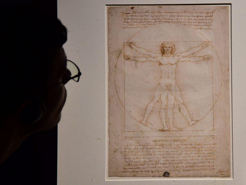 Teismas atmetė bandymą neleisti paskolinti Luvrui garsiojo L. da Vinci piešinio