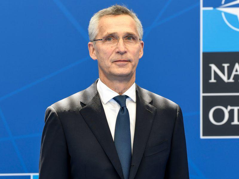 J. Stoltenbergas: NATO durys atviros Ukrainai ir Sakartvelui