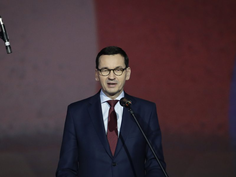 Lenkijos premjeras ragina ES užtaisyti mokesčių spragas