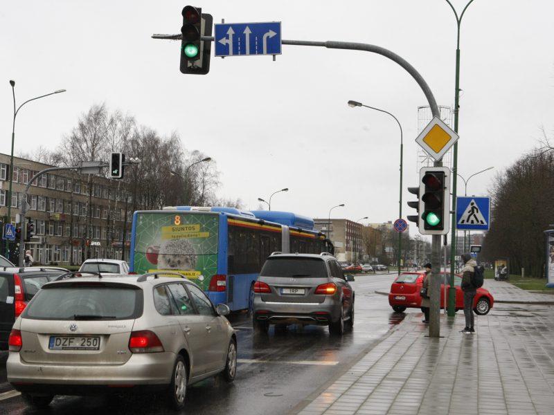 Į Klaipėdos gatves žaliosios rodyklės – jau pakeliui?