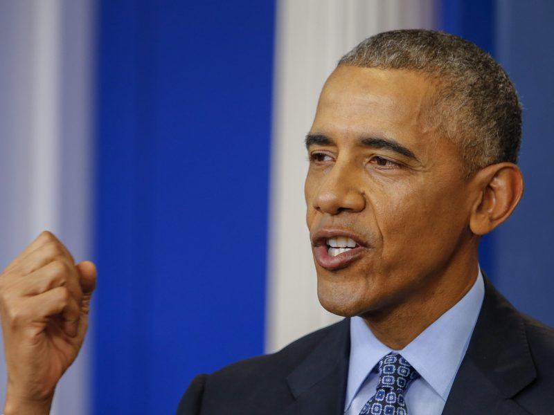 B. Obama: lyderiai net neapsimeta, kad valdo padėtį