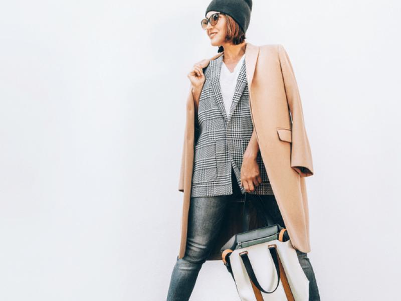 Stilinga, jauki ir šilta rudens rūbų kapsulė