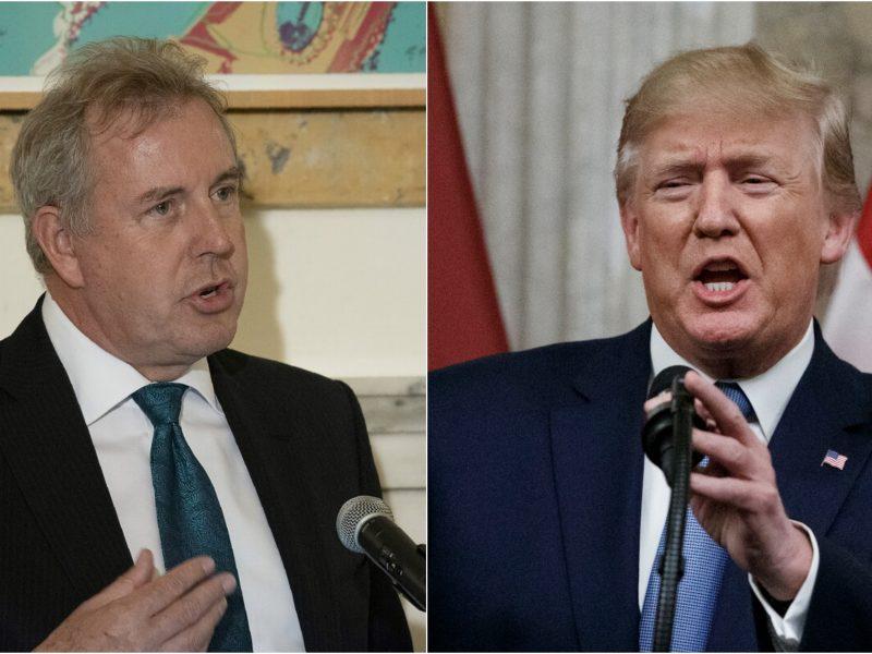 """JK reiškia """"visišką paramą"""" į ginčą su D. Trumpu įsivėlusiam diplomatui"""