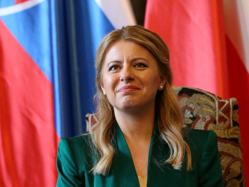 Nauja Slovakijos prezidentė – proveržio simbolis?
