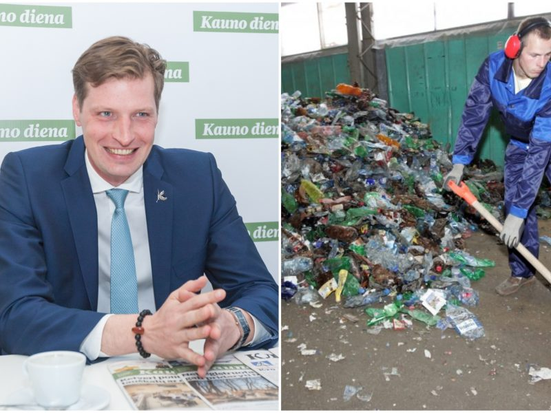K. Mažeika: niša atliekų perdirbimo srityje – didelė