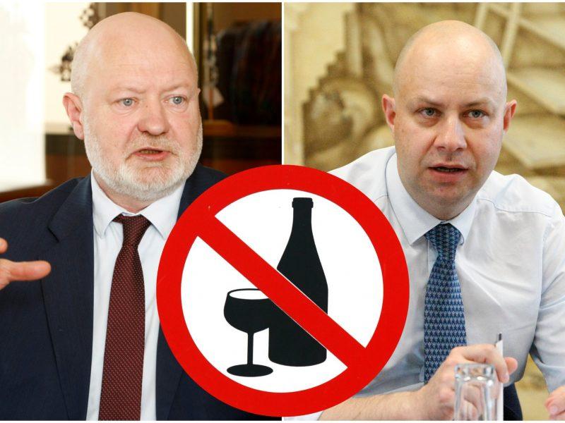 Dėl alkoholio prekybos ribojimų – politikų mūšis