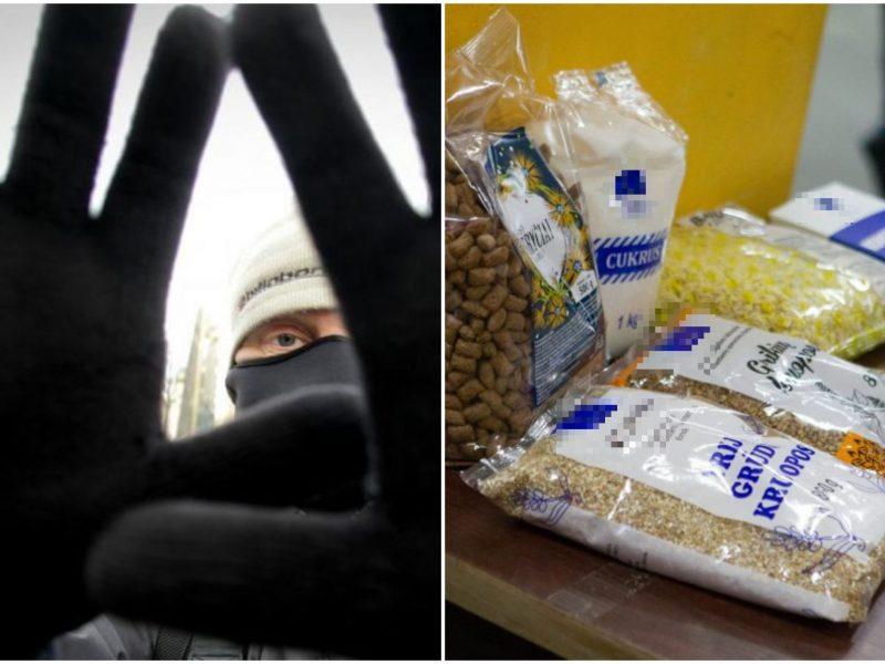 Zarasų rajone trys kaukėti plėšikai pagrobė maisto produktus ir namų apyvokos daiktus