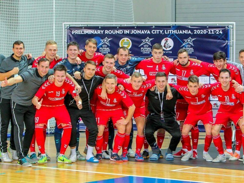"""Dar vienas """"Žalgiris"""" Lietuvos sporto padangėje: pervadinta geriausia salės futbolo ekipa"""