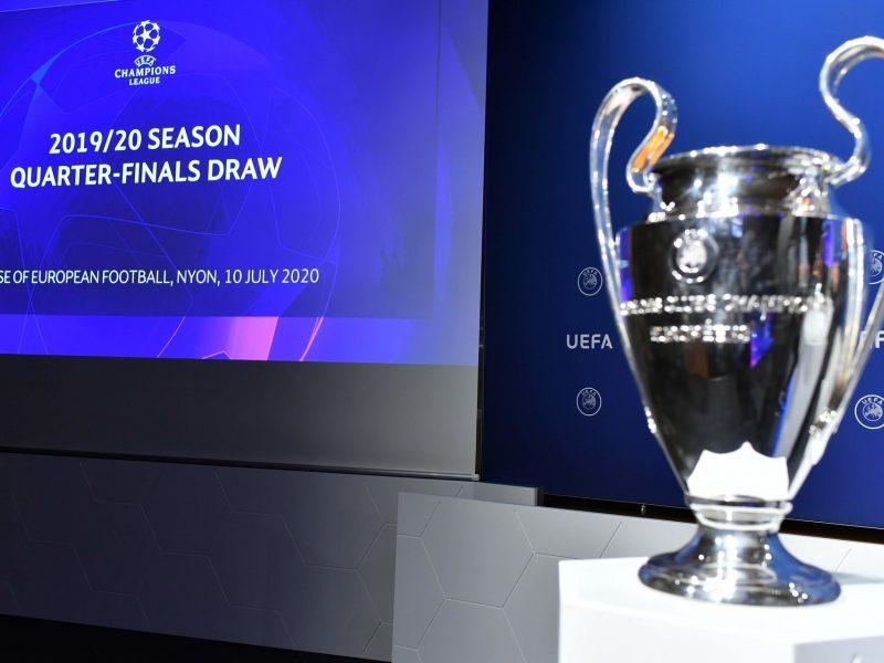Ištraukti UEFA Čempionų lygos burtai: ketvirtfinaliuose – galimos grandų akistatos