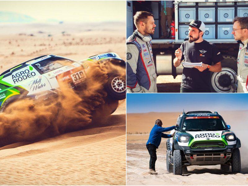 Aštuntajame Dakaro etape trys lietuvių ekipažai finišavo dvidešimtuke