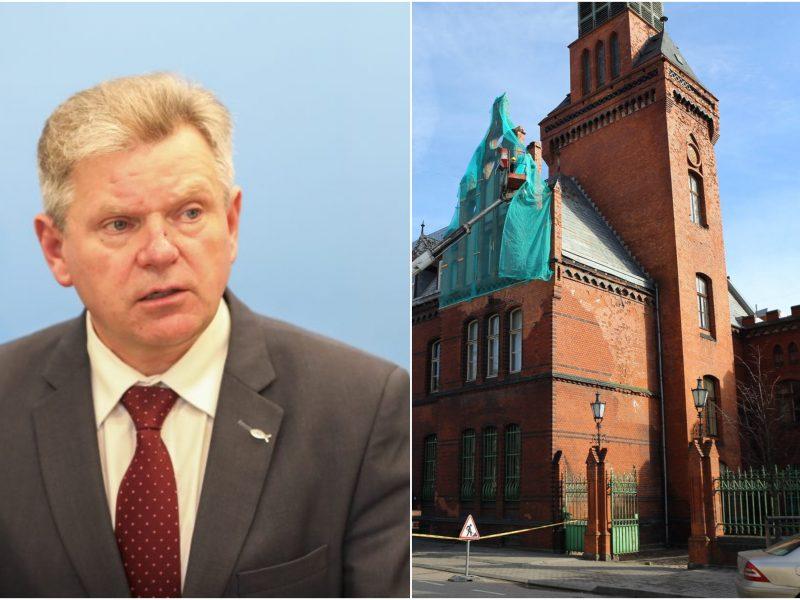 J. Narkevičius: dėl Klaipėdos pašto pastato ateities reikės diskutuoti