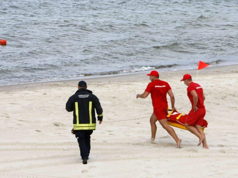 Palangos paplūdimyje rastas moters lavonas