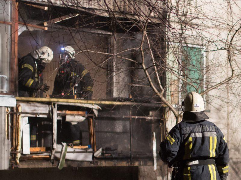 Panevėžio rajone sprogo kieto kuro katilas: išgriuvo siena, šeima liko be namų