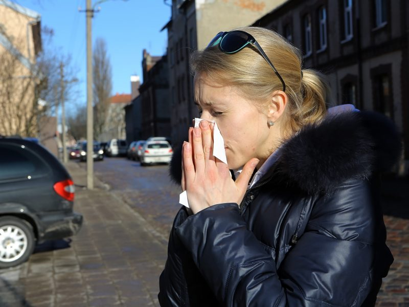 Sergančiųjų gripu Klaipėdoje nemažėja: ligoninėje – jau dešimt žmonių