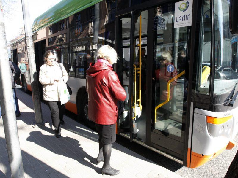Ilgąjį savaitgalį – karantino ritmu: kaip uostamiestyje kursuos viešasis transportas?