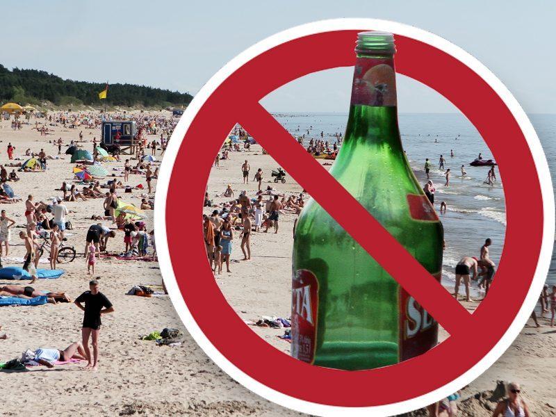 Seimas kol kas nešvelnina prekybos alkoholiu paplūdimiuose