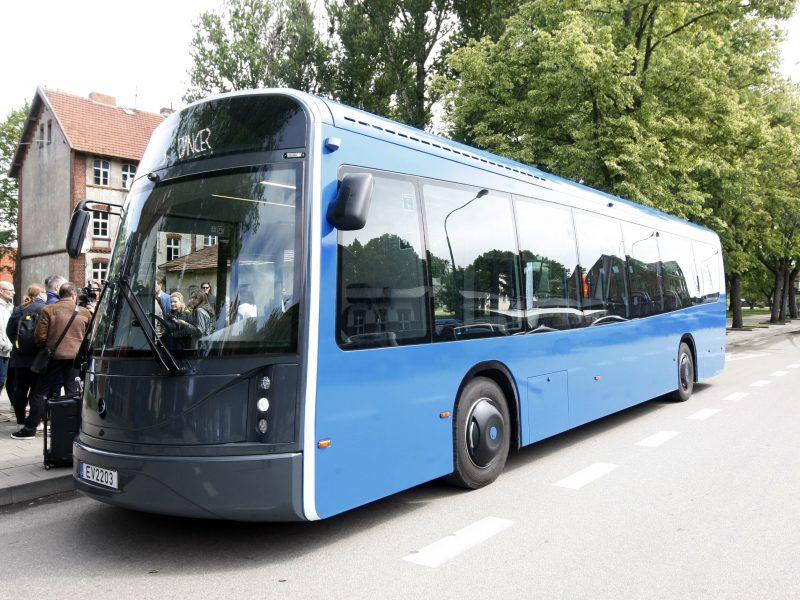 Klaipėda nori daugiau elektrinių autobusų