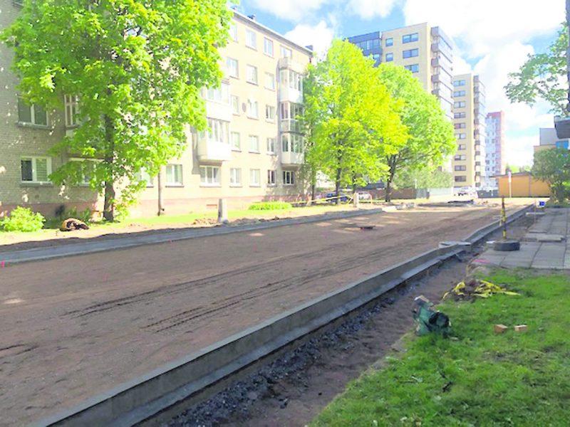 Klaipėdiečiai nori atnaujintų kiemų ir parkų