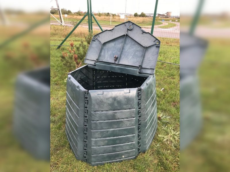 Komposto ir kompostinių dalinimo sezonas prasideda!