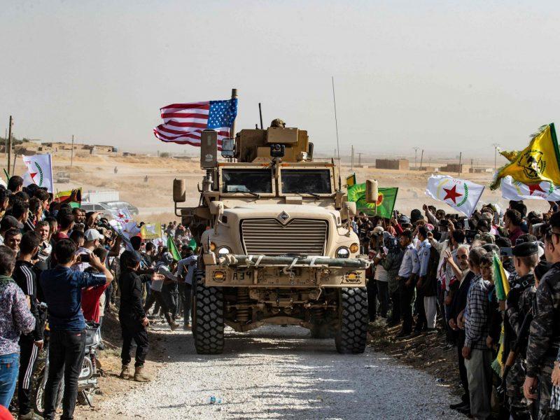 Vašingtonas gręžiasi nuo savo sąjungininkų: uždegta žalia šviesa Turkijos invazijai