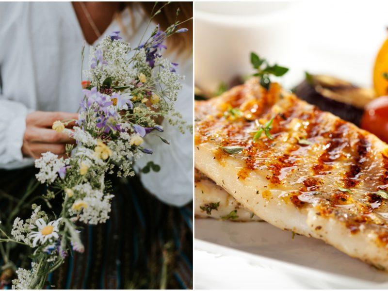 Jonines švęskite gamtoje, bet valgykite kaip restorane: receptų idėjos savaitgaliui